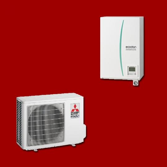 Pompe à Chaleur Air/Eau ERSC-VM2B / PUHZ-SW40VHA MITSUBISHI ELECTRIC