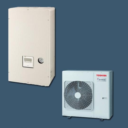 Pompe à Chaleur Air/Eau HWS-804H-E / HWS-804XWHM3-E TOSHIBA