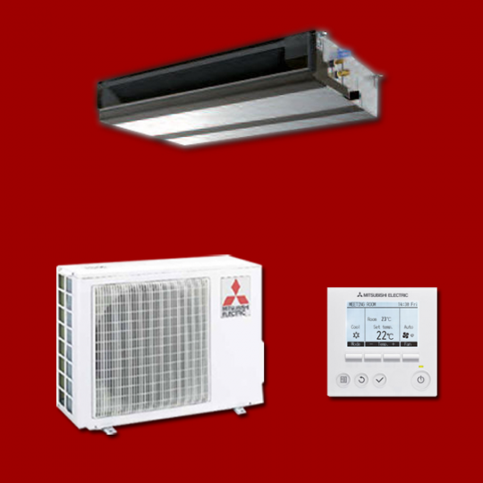 Climatiseur Inverter Gainable PEAD-M35JA / SUZ-KA35VA6 MITSUBISHI ELECTRIC