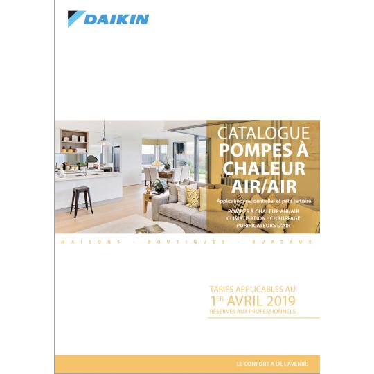 Catalogue Climatisation DAIKIN 2019-2020