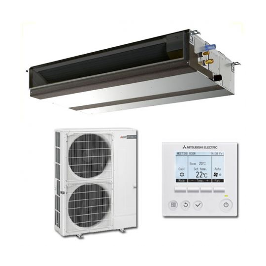 Climatiseur Inverter Gainable PEAD-M140JA / PUHZ-ZRP140VKA3 MITSUBISHI ELECTRIC