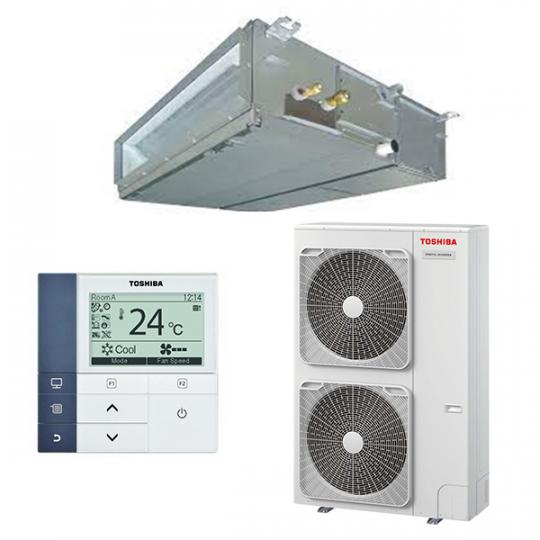 Pompe à Chaleur Inverter Gainable RAV-SM1104ATP-E / RAV-RM1101BTP-E TOSHIBA